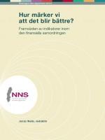 Framsida, Rapport, NNS, 2015:2
