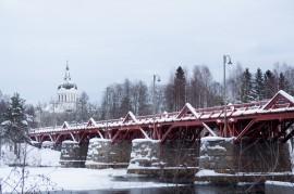 Lejonströmsbron, Skellefteå   © 2011, Emil Tjärnström, Skellefteå