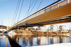 Älvsbackabron, Skellefteå