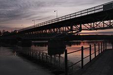 Parkbron, Skellefteå